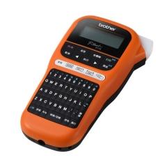 兄弟標簽打印機PT-E115 便攜式手持網線纜不干膠打標簽機